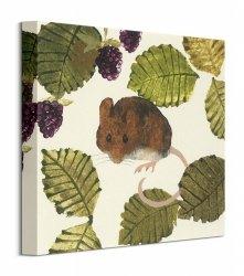 Wood Mouse - obraz na płótnie