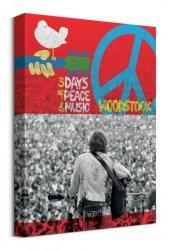 Woodstock 400,000 - obraz na płótnie