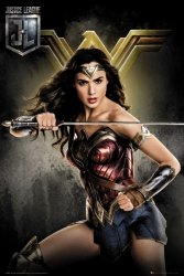 Justice League Wonder Woman - plakat