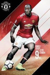 Manchester United Lukaku 17/18 - plakat