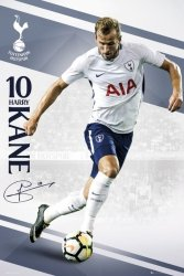 Tottenham Kane 17/18 - plakat