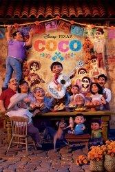 Coco (Family) - plakat z filmu