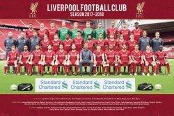 Liverpool Team Photo 17/18 - plakat