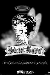 Betty Boop (Street Angel) - plakat