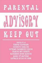 Parental Advisory (Girly) - plakat