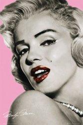 Marilyn Monroe (pink) - plakat