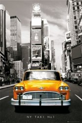 New York (taxi no 1) - plakat