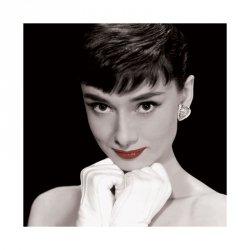 Audrey Hepburn (Czerwone usta) - reprodukcja