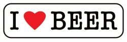 I Love Beer - plakat