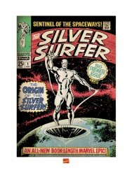 Silver Surfer (The Origin) - reprodukcja