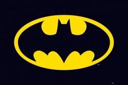 Batman (klasyczne logo) - plakat