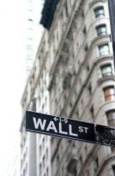 Fototapeta - Wall Street, znak - 115x175 cm