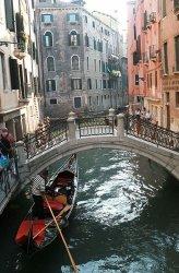 Fototapeta do salonu - Wenecja, gondola - 115x175 cm