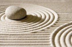 Fototapeta na ścianę - Kamień na piasku - 175x115 cm