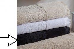 Ręcznik - 100% Bawełna - Minos Czarny - NAF NAF