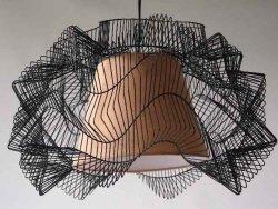 Lampa wisząca - Sieć - 45x27cm
