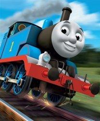 Tapeta dla dzieci - Thomas & Friends - 3D - Walltastic