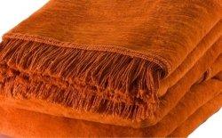 Koc - Pomarańczowy - 150x200 cm