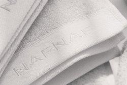 Ręcznik - Biały - 100% Bawełna - NAF NAF