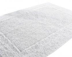 Dywanik łazienkowy - Biały - 60x105cm