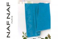 Ręcznik plażowy - Turkusowy - NAF NAF - 90x180cm