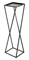 Kwietnik metalowy - Stojak wielofunkcyjny skośny - 103x32cm