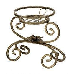 Kwietnik metalowy - Stojak na kwiaty - Kołyska 1-ka