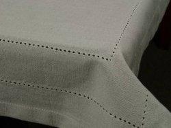 Obrus na stół - Szarość - 100% Bawełny -140x180cm