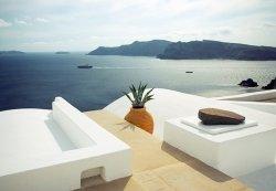 Fototapeta Na Ścianę - Lato w Santorini, Grecja 366x254 cm