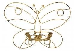 Kwietnik metalowy -  Ścienny - Motyl