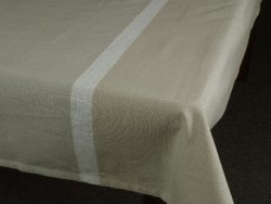 Obrus na stół - Oliwkowa zieleń - 140x180cm