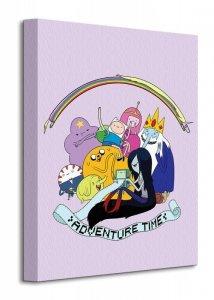 Adventure Time - Group - Obraz na płótnie