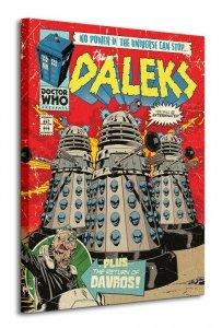 Doctor Who (The Daleks Comic) - Obraz na płótnie