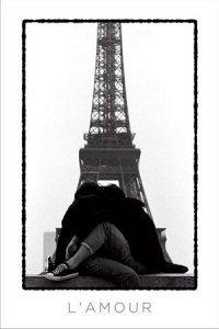 L'amour (Eiffel Tower Lovers) - plakat