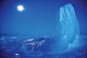 Arktyczny błękit - plakat