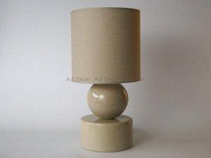 Lampka nocna - Cappucino - PERLA I - 20x39cm