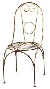 Krzesło metalowe - W stylu Retro - Dostępne w 8 Kolorach