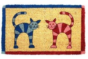 Wycieraczka wejściowa - Twin Cats