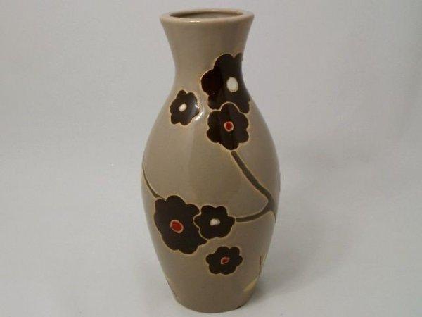 Vaso in ceramica lucida. 16x33cm