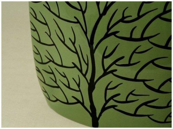 Wazon ceramiczny - Zielony Duży - 27x9x34,5cm