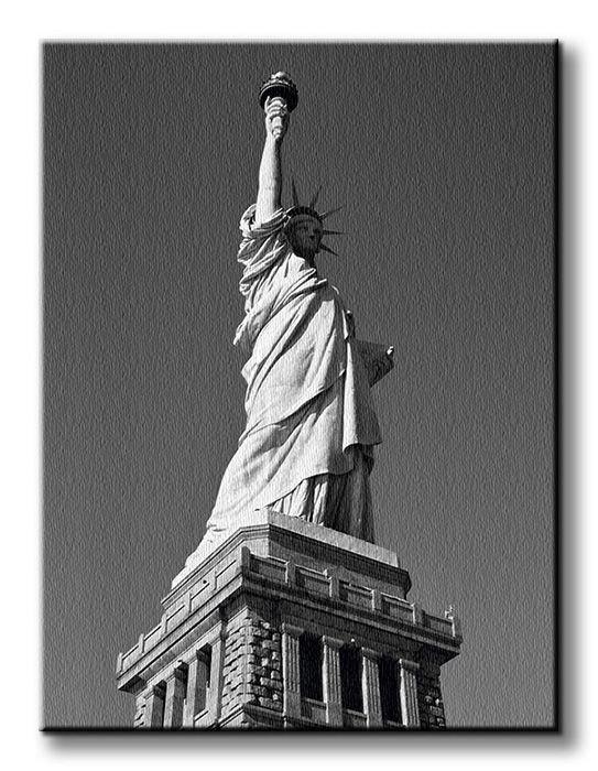 Obraz do salonu - Statua Wolności, New York - 90x120 cm - Sklep DecoArt24.pl