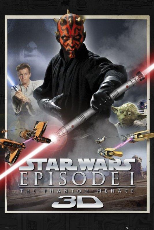 Star Wars Episode One - plakat