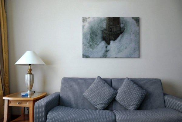 Phares Dans La Tempte, La Jument - Obraz na płótnie