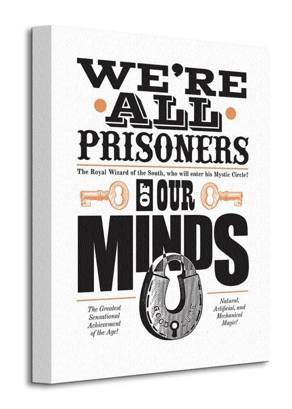 Asintended (Prisoners Of Our Minds) - Obraz na płótnie