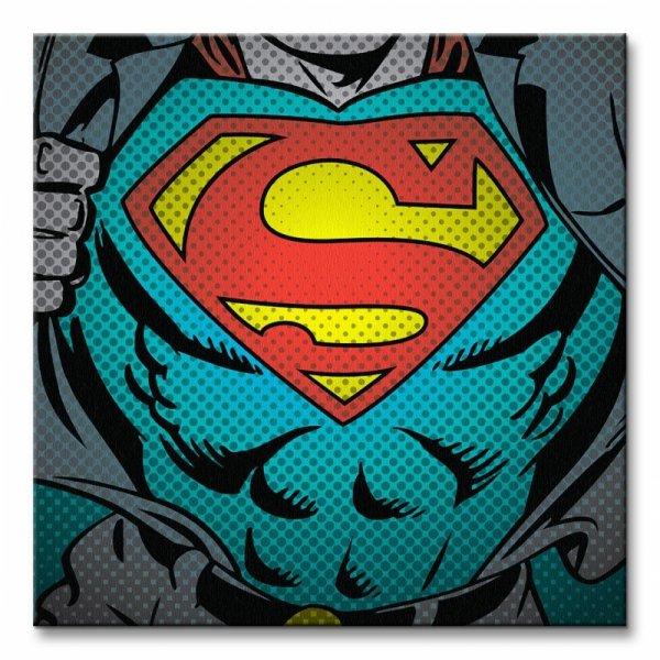 Obraz do sypialni - Dc Comics (Superman Torso)