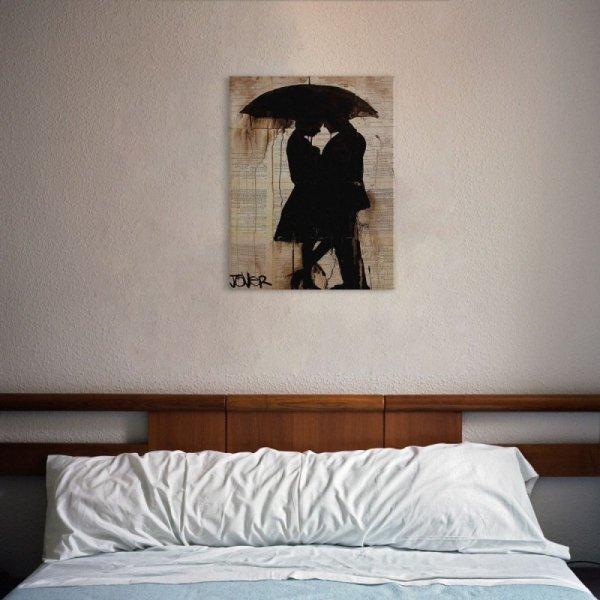 Rain Lovers - Obraz na płótnie