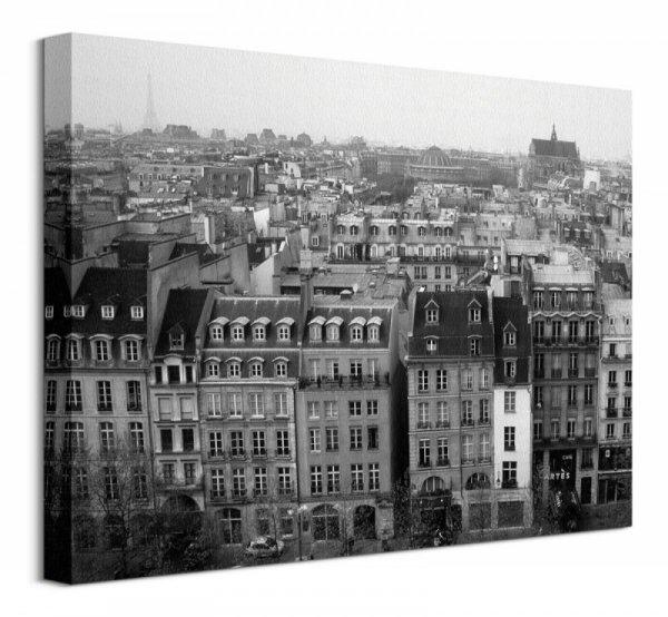 Parisian Rooftops - Obraz na płótnie