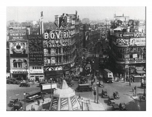Obrazna ścianę - Time Life (Piccadilly Circus, Londyn 1942)