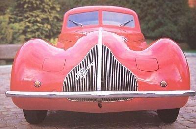Alfa Romeo 2900 A Bicompressore 1936 - reprodukcja