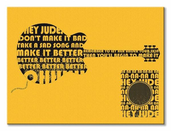 Lennon & McCartney Hey Jude - obraz na płótnie